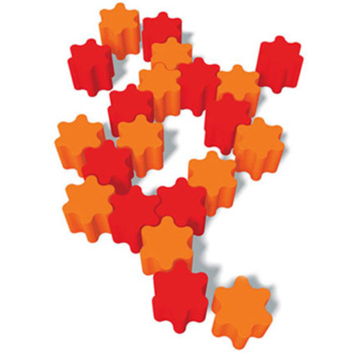 Eero Koivisto : Flower  :  eero koivisto unique interlocking orange