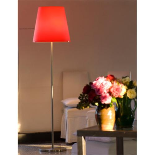 fontana arte 3247 stehleuchte roter schirm standleuchte bodenleuchte. Black Bedroom Furniture Sets. Home Design Ideas