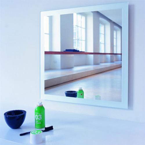 Sand 80x80 flos spiegel badezimmerspiegel badspiegel for Spiegel 80x80