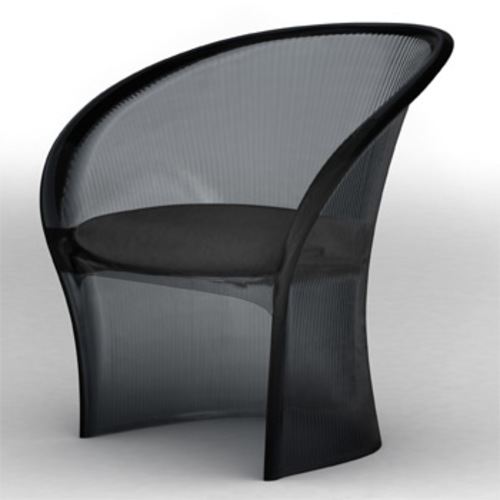 Flower Low Chair Stuhl - Magis - Pierre Paulin Kunststoffstuhl Outdoor