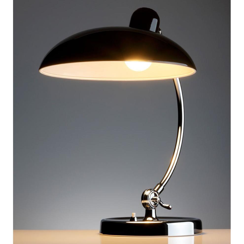kaiser idell luxus schwarz tischleuchte 6631 christian. Black Bedroom Furniture Sets. Home Design Ideas