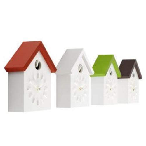 magis cu clock wei kuckucksuhr wanduhr dach naoto fukasawa design. Black Bedroom Furniture Sets. Home Design Ideas