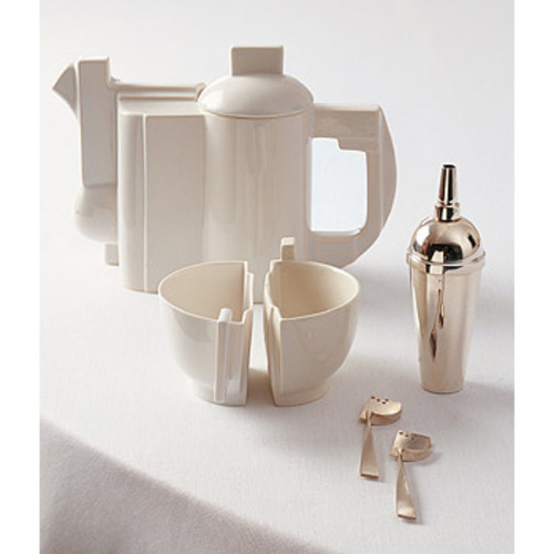 Kasimir Malevitsch & Anette Glatzel : Teeservice & Zuccherino :  anthologie quartett design designer kitchen