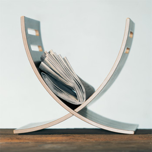 Trondesign : Bandera  :  magazine rack designer home accessories newspaper rack