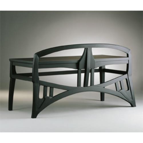Piano Bench Maria van de Velde - Adelta - Henry van de Velde - Bänke & Liegen - Sitzmöbel - Wohnen & Einrichten