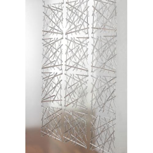 stixx koziol raumteiler dekoelement 535 vorhang paravent transparent. Black Bedroom Furniture Sets. Home Design Ideas