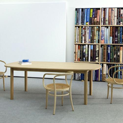 1130 thonet vierfu tisch holztisch naoto fukasawa. Black Bedroom Furniture Sets. Home Design Ideas