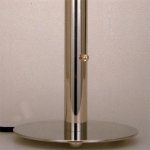 wagenfeld wa 24 tecnolumen tischleuchte bauhaus metallfu. Black Bedroom Furniture Sets. Home Design Ideas