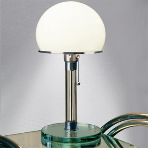 wg 24 wagenfeld tischleuchte tecnolumen bauhausleuchte glasfu. Black Bedroom Furniture Sets. Home Design Ideas