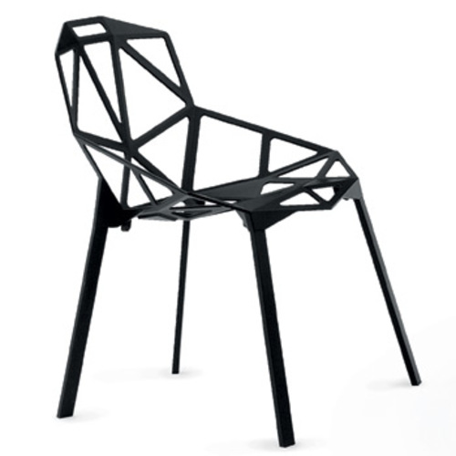 magis chair one stuhl aluminiumstuhl stahlrohrstuhl konstantin grcic. Black Bedroom Furniture Sets. Home Design Ideas