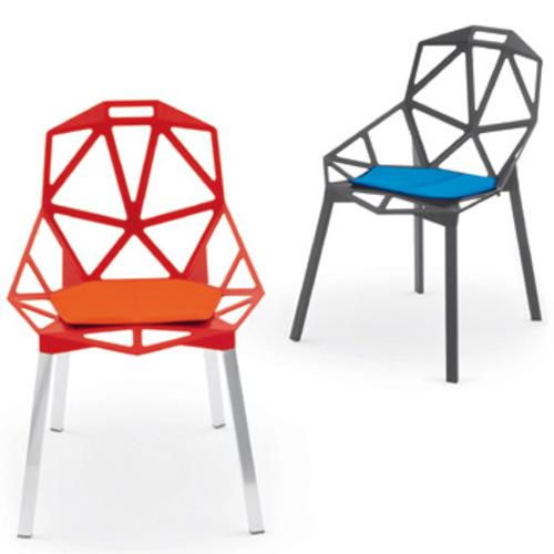 Magis chair one stuhl aluminiumstuhl stahlrohrstuhl - Konstantin grcic chair one ...