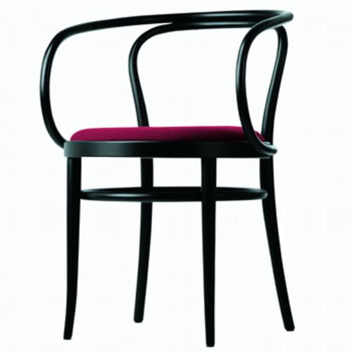 thonet 209 p holzstuhl bugholzklassiker lederstuhl. Black Bedroom Furniture Sets. Home Design Ideas