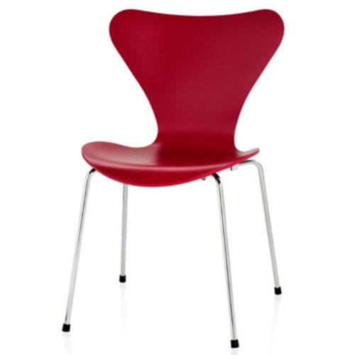 fritz hansen modell 3107 lackiert arne jacobsen serie 7. Black Bedroom Furniture Sets. Home Design Ideas
