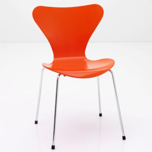 Fritz Hansen 3177 Kinderstuhl Arne Jacobsen Serie 7 3107 Designstuhl