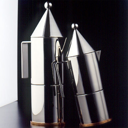 ... 90002/6 La Conica Espressomaschine   Officina Alessi   Aldo Rossi  Plattenkocher ...