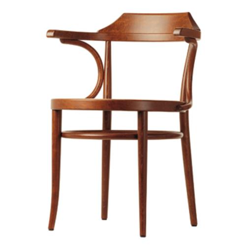 thonet 233 m stuhl armlehnen kaffehausstuhl bugholz buche gebeizt. Black Bedroom Furniture Sets. Home Design Ideas