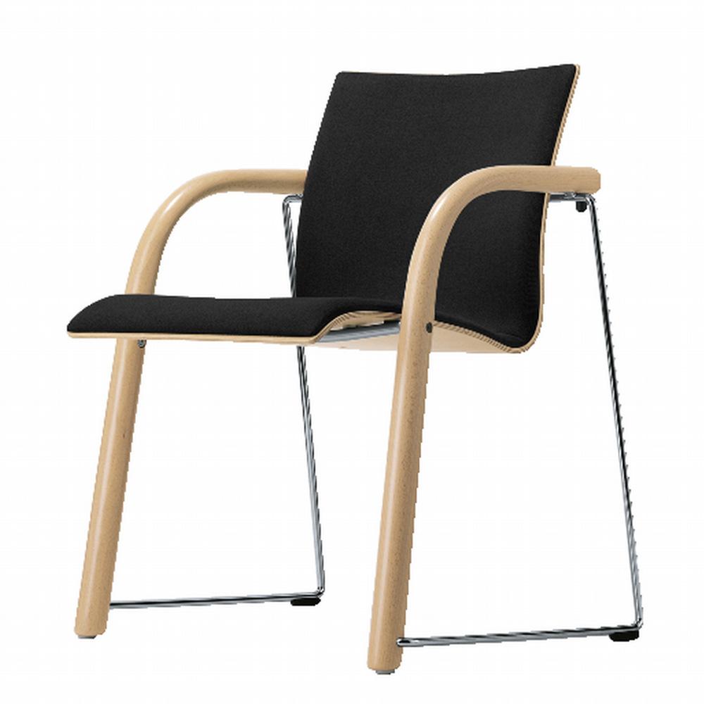 thonet s 320 p polsterstuhl wulf schneider lederstuhl. Black Bedroom Furniture Sets. Home Design Ideas