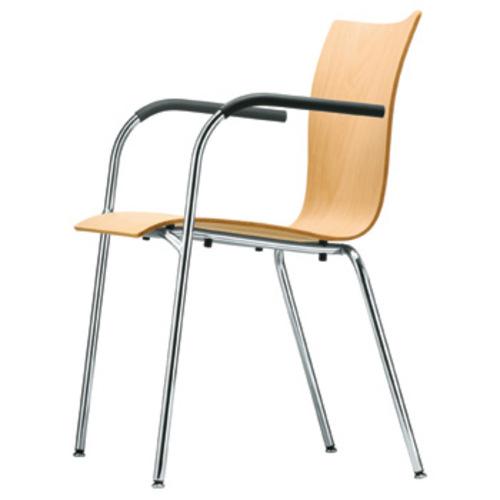 thonet s 362 f armlehnenstuhl buche gebeizt delphin design. Black Bedroom Furniture Sets. Home Design Ideas