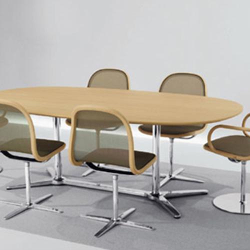 thonet a 1661 zweis uliger tisch b ro konferenztisch james. Black Bedroom Furniture Sets. Home Design Ideas