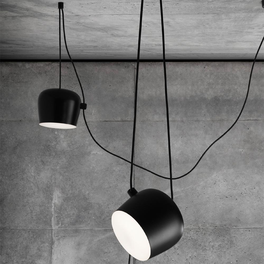 flos aim deckenleuchte erweiterung schwarz ronan erwan. Black Bedroom Furniture Sets. Home Design Ideas
