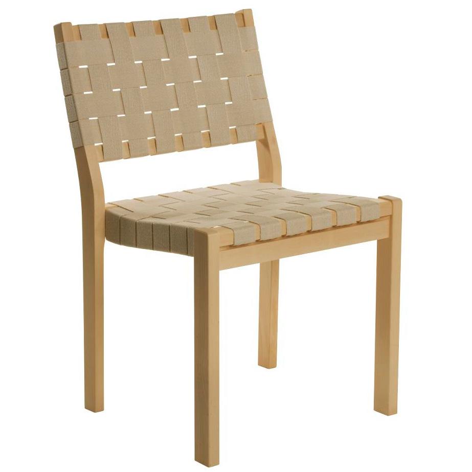 Stühle Geflochten artek 611 stuhl leinengurte natur alvar aalto holzstuhl geflochten