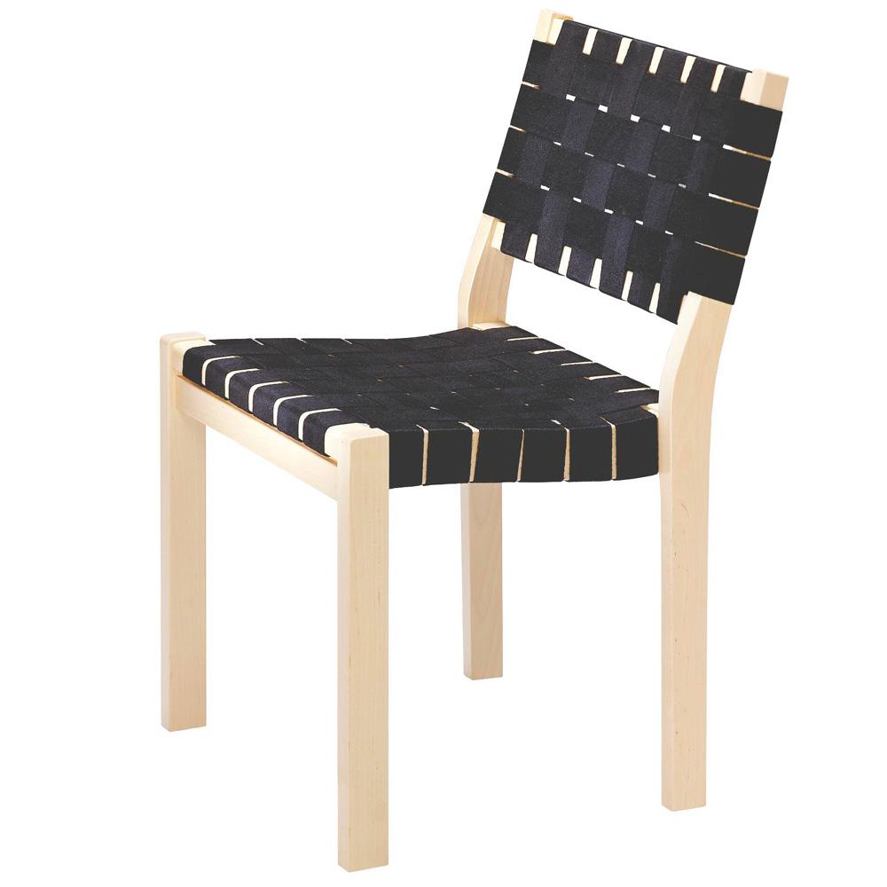 Stühle Geflochten artek 611 stuhl schwarz leinengurte alvar aalto holzstuhl geflochten