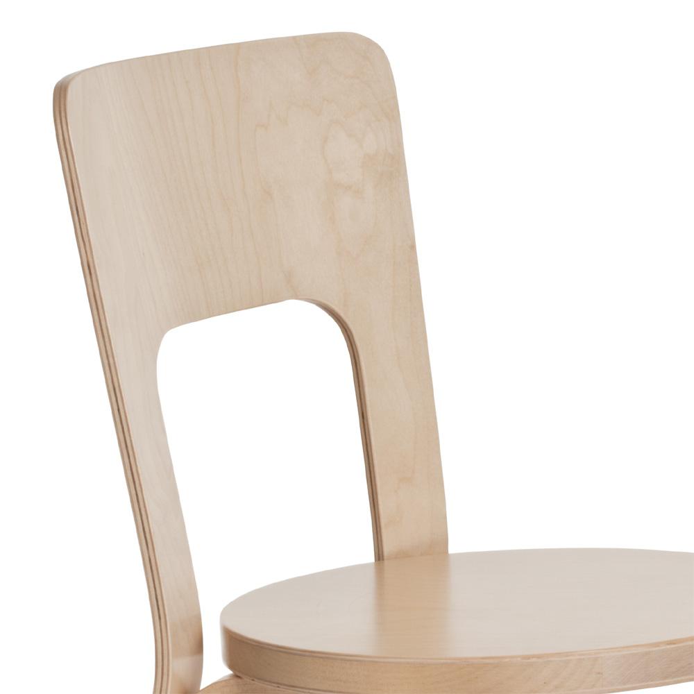 artek 66 stuhl chair alvar aalto holzstuhl birke natur. Black Bedroom Furniture Sets. Home Design Ideas