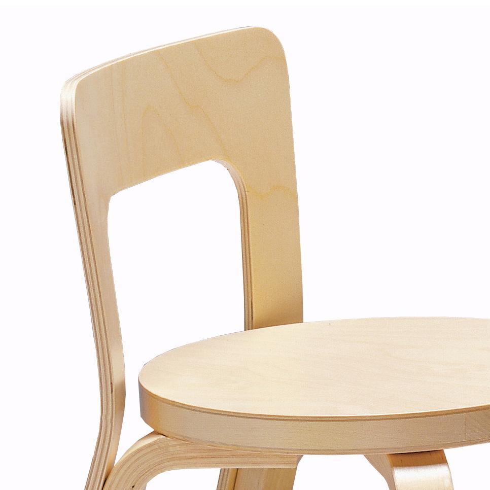 Artek N65 Kinderstuhl Childrens Chair Alvar Aalto Birke