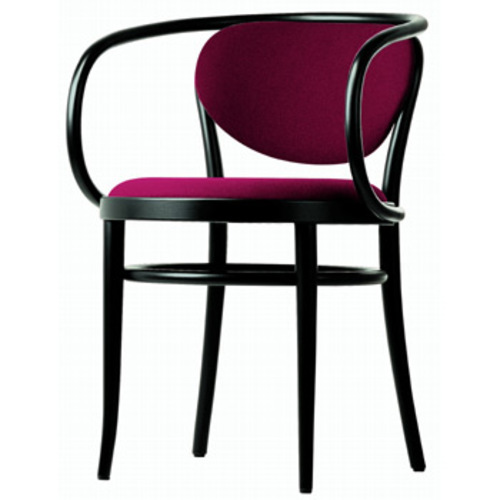 thonet 210 p bugholzstuhl stoffpolsterung designstuhl wiener kaffeehaus. Black Bedroom Furniture Sets. Home Design Ideas