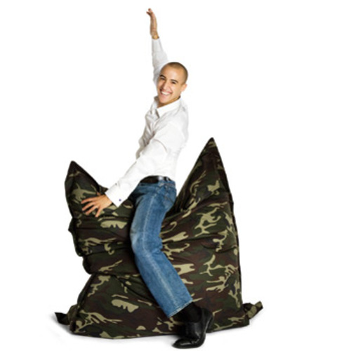 sitting bull sitzsack camouflage sitzkissen bodenkissen xxl. Black Bedroom Furniture Sets. Home Design Ideas