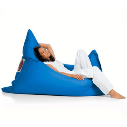sitting bull sitzsack mittelblau sitzkissen bodenkissen med blue. Black Bedroom Furniture Sets. Home Design Ideas