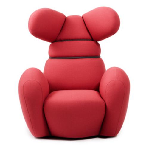 Normann copenhagen bunny sessel rosa chair iskos berlin for Ohrensessel rosa