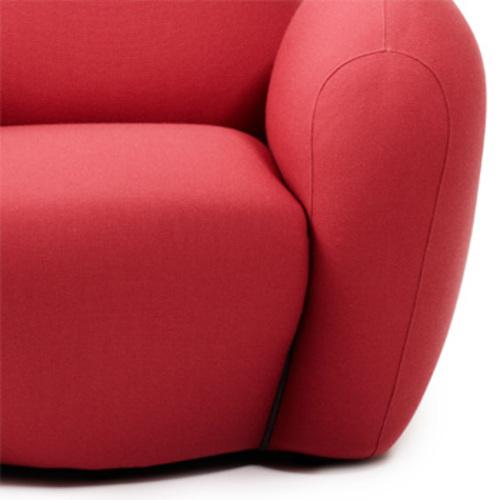 normann copenhagen bunny sessel rosa chair iskos berlin ohrensessel. Black Bedroom Furniture Sets. Home Design Ideas