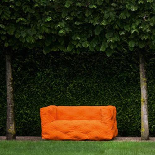 Sitting Bull Couch I Sofa Outdoor 2 Sitzer Zweisitzer Stefan Diez Garten
