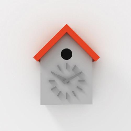 magis cuclock kuckucksuhr wanduhr naoto fukasawa k chenuhr kinder. Black Bedroom Furniture Sets. Home Design Ideas