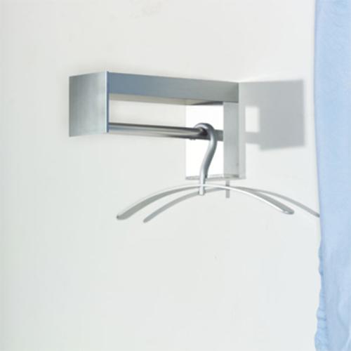 pieperconcept cubix wall wandgarderobe edelstahl. Black Bedroom Furniture Sets. Home Design Ideas