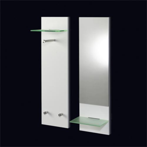 pieperconcept doppio spiegel wei mit ablage flurspiegel hauke murken. Black Bedroom Furniture Sets. Home Design Ideas