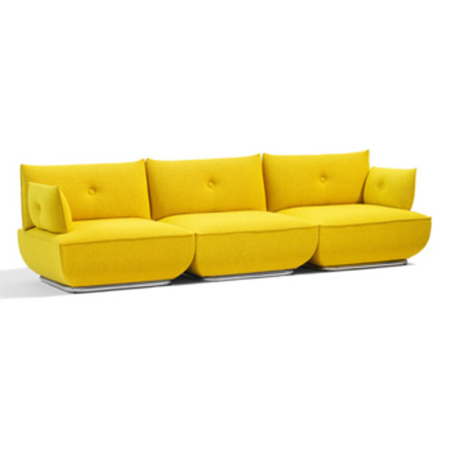 Dunder 3-Sitzer Sofa S60 - Bla Station - Stefan Borselius Polstersofa