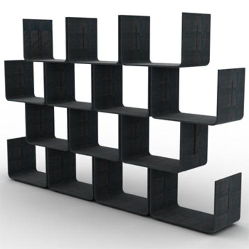 magis elysee regalsystem wandregal raumteiler pierre paulin holzregal. Black Bedroom Furniture Sets. Home Design Ideas
