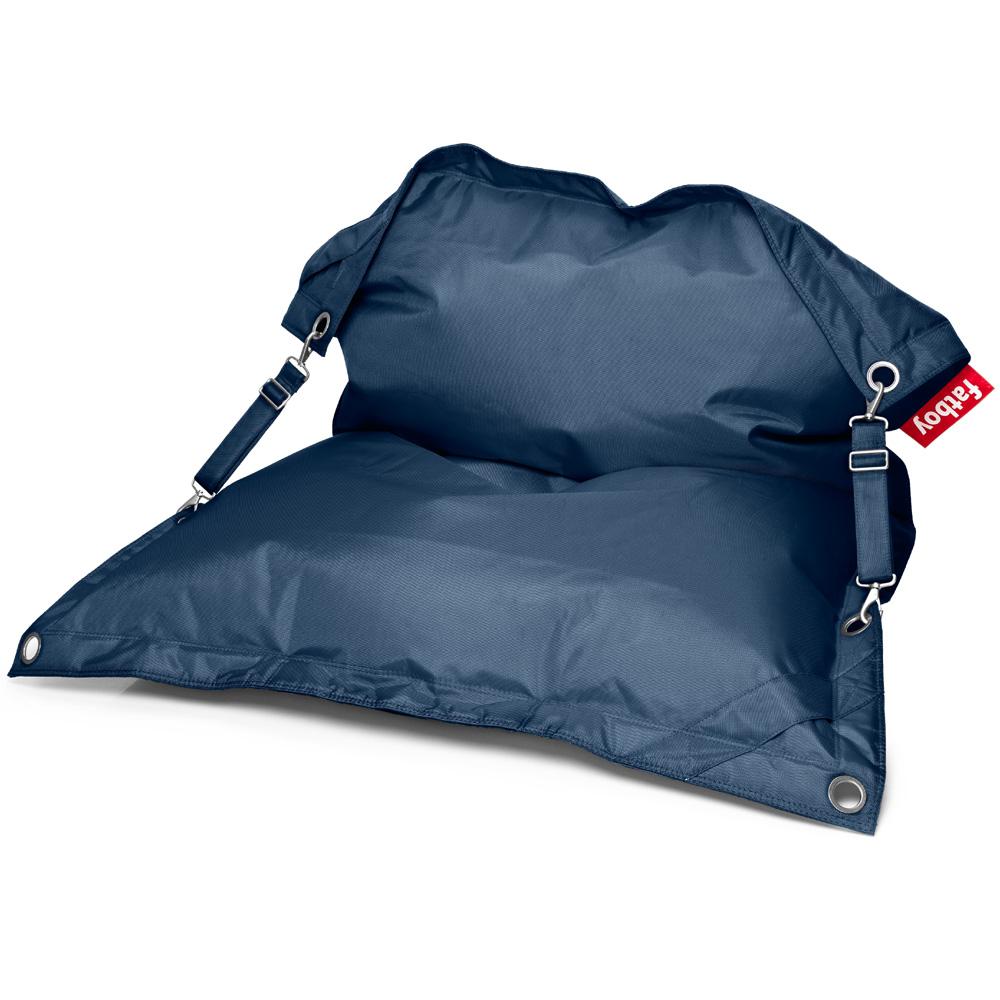 Fatboy Buggle Up Dunkelblau Sitzsack Blau Outdoor Sitzkissen Design