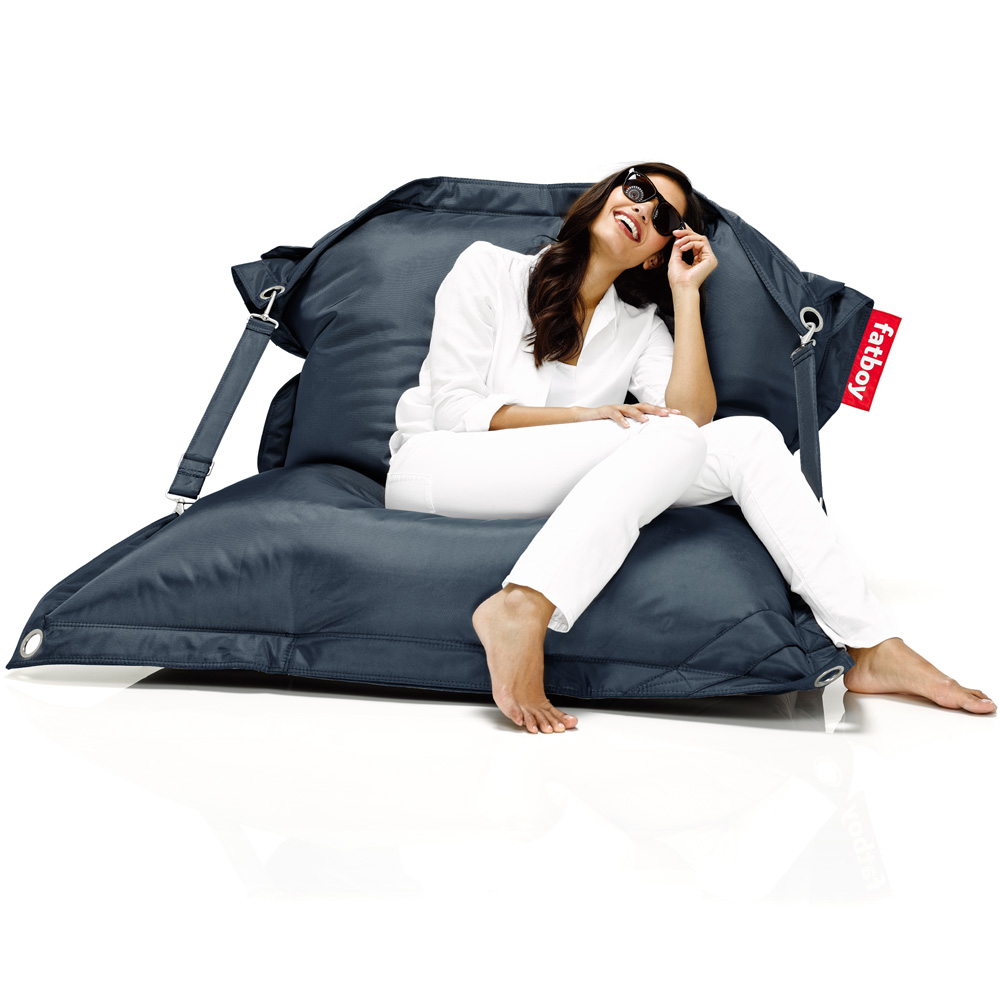 fatboy buggle up dunkelblau sitzsack blau outdoor. Black Bedroom Furniture Sets. Home Design Ideas