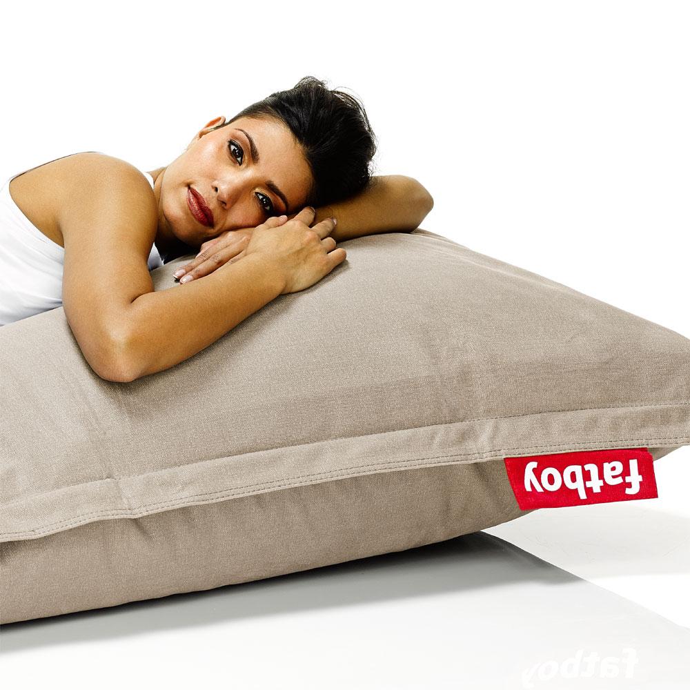 fatboy stonewashed sitzsack sand sitzkissen. Black Bedroom Furniture Sets. Home Design Ideas