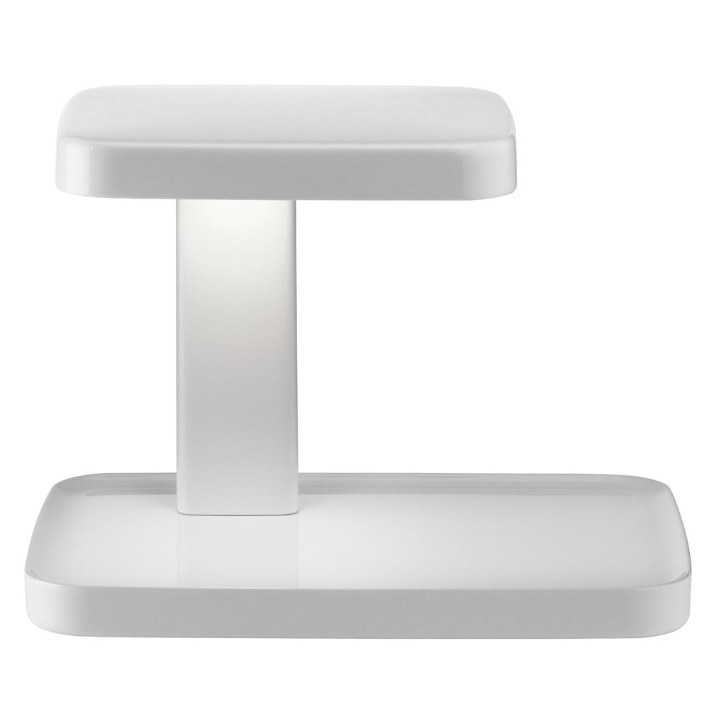 flos piani tischleuchte wei schreibtischleuchte. Black Bedroom Furniture Sets. Home Design Ideas