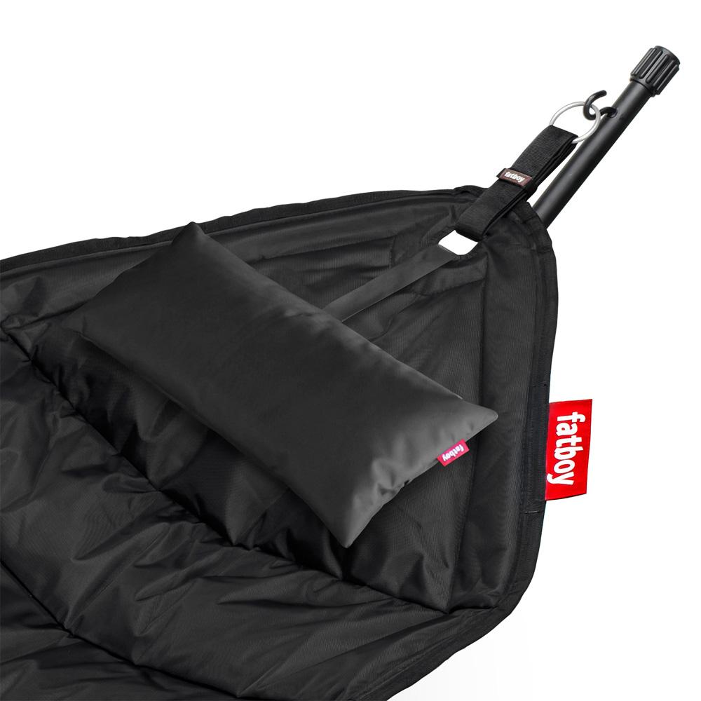 fatboy headdemock pillow schwarz h ngematte kissen black outdoor. Black Bedroom Furniture Sets. Home Design Ideas