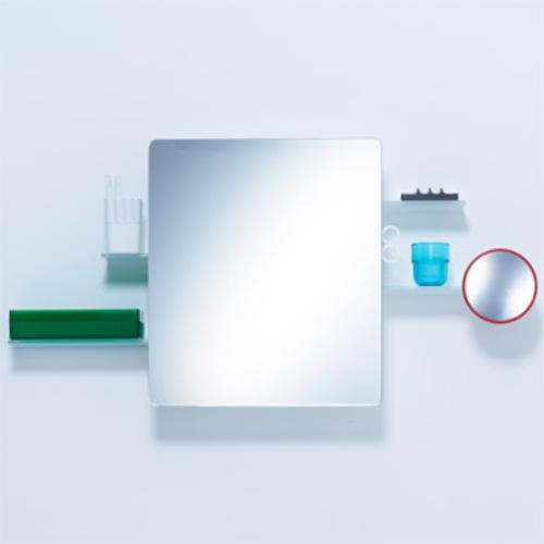 authentics kali spiegelschrank badezimmerschrank alibert mirror cabinet. Black Bedroom Furniture Sets. Home Design Ideas