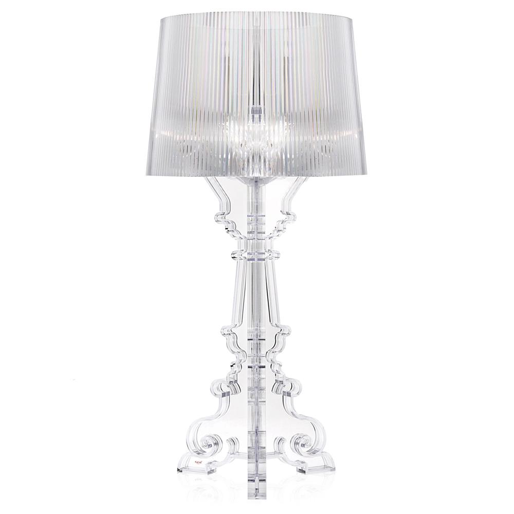 Kartell Bourgie Glasklar Leuchte Transparent Ferruccio Laviani