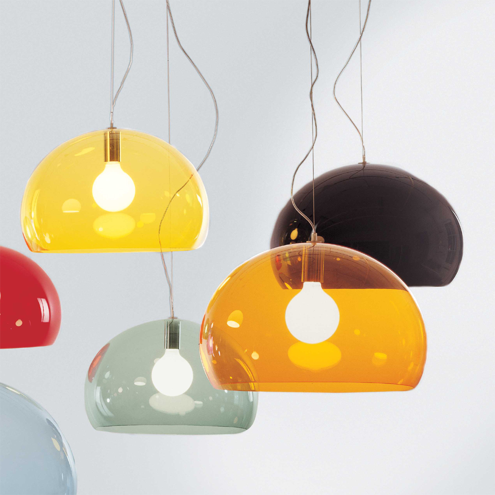 gelbe deckenleuchte glas pendelleuchte modern. Black Bedroom Furniture Sets. Home Design Ideas