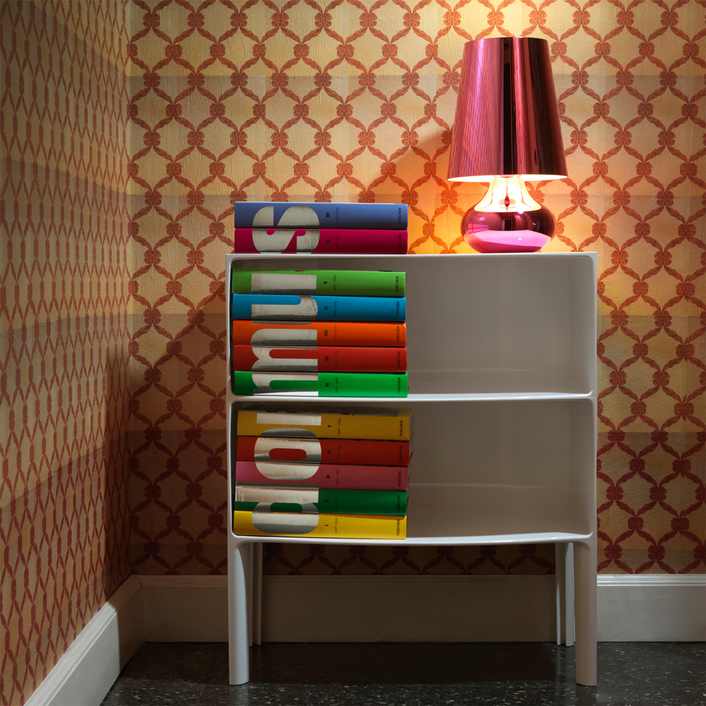 kartell ghost buster kommode wei sideboard philippe. Black Bedroom Furniture Sets. Home Design Ideas