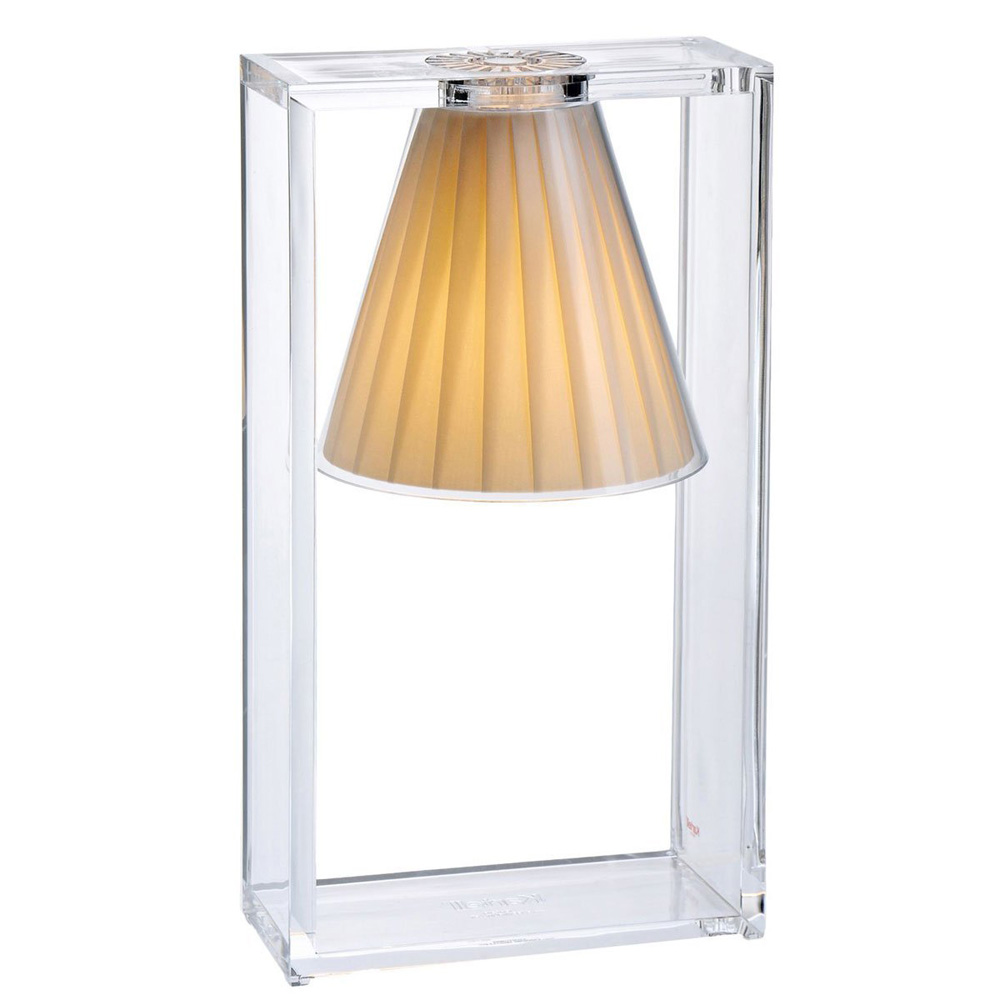 Light Air Tischleuchte Beige - Kartell 9110 BE - Eugeni Quitllet