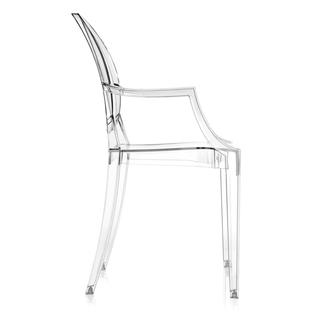 Kartell Louis Ghost Glasklar Stuhl Transparent Philippe Starck
